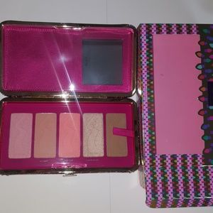 NEW Tarte Life Of The Party Blush & Clutch